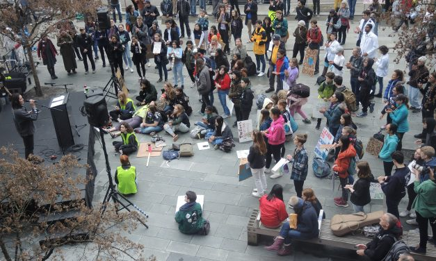 Climate Strike at Seattle City Hall
