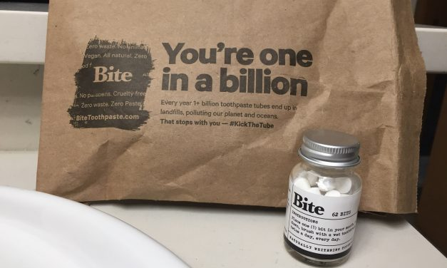 Bite Toothpaste Cuts Out Plastic, One Bit at a Time