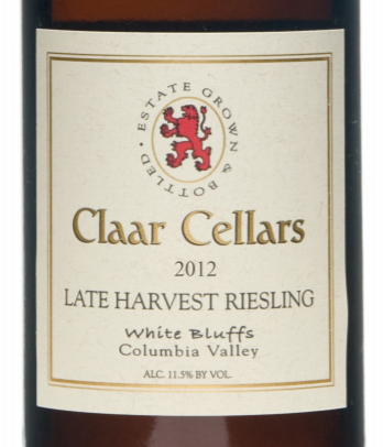Claar Cellars wine label