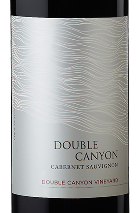 Double Canyon wine label