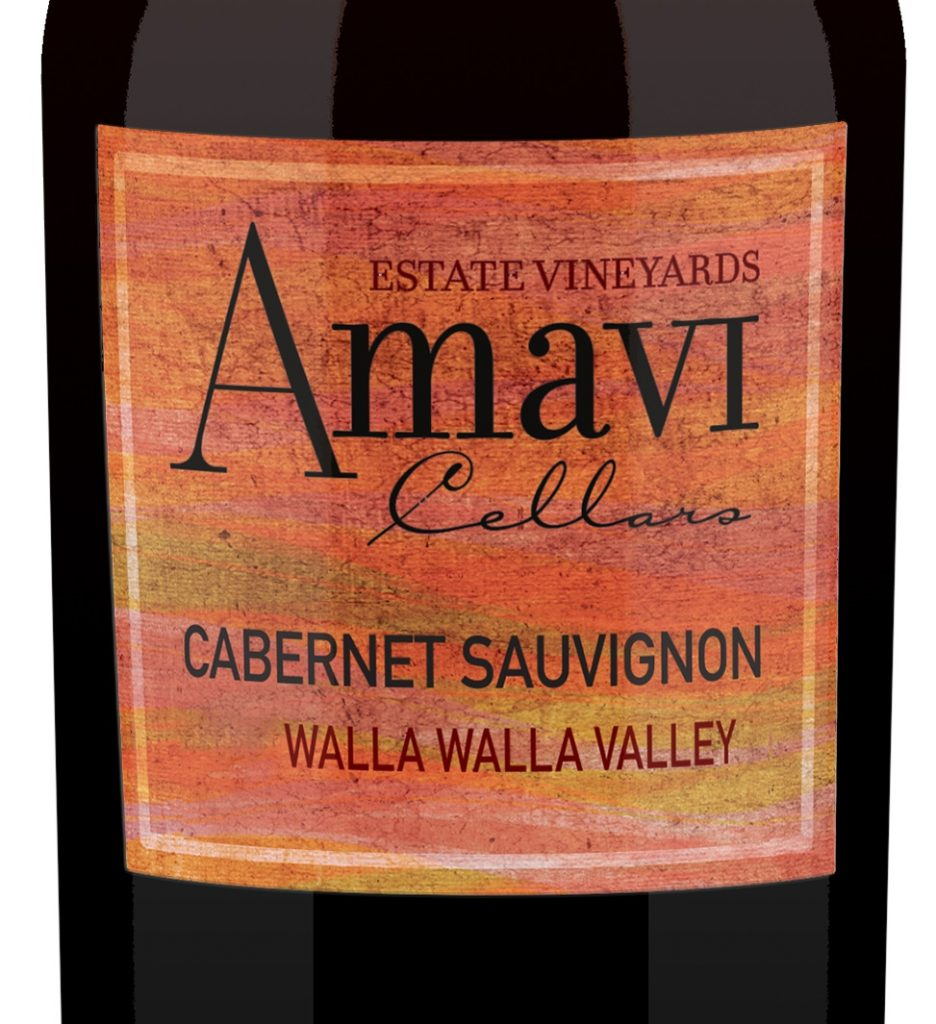 Amavi Cellars Wine label