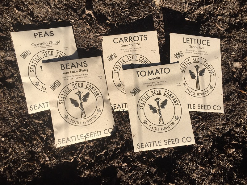 Free Organic Seeds for Posting a Trash Cleanup Video!