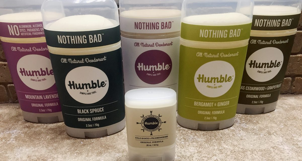 Will Natural Humble Deodorant Make You Smile or Smell?