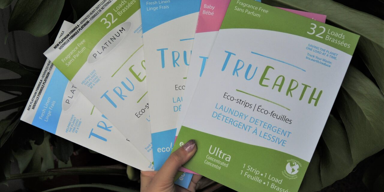 How to Create a Sustainable Laundry Routine with Tru Earth Eco-Strips